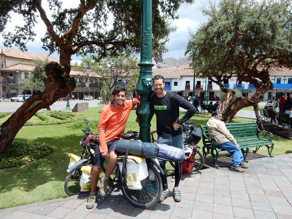 Park in centre of Cusco