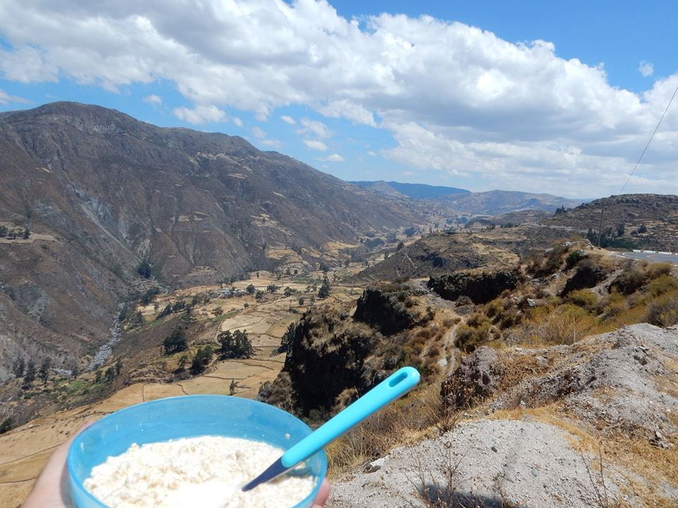 Oats with a view
